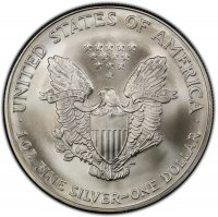 2005 1 oz American Silver Eagle Coin - Gem BU