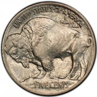 1913 Buffalo Nickel Coin - Type 1 - Choice BU