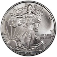 1997 1 oz American Silver Eagle Coin - Gem BU