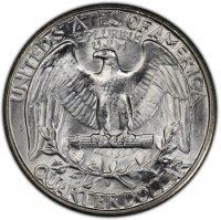 1932-S Washington Silver Quarter Coin - Choice BU