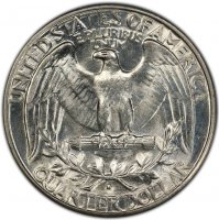 1932-D Washington Silver Quarter Coin - Choice BU