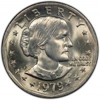 1979 Susan B. Anthony Dollar Coin - Choose Mint Mark - BU