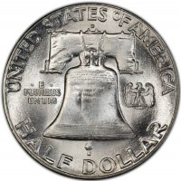 1948-D Franklin Silver Half Dollar Coin - Choice BU