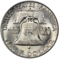 1951-D Franklin Silver Half Dollar Coin - Choice BU