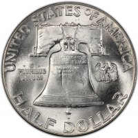 1949 Franklin Silver Half Dollar Coin - Choice BU