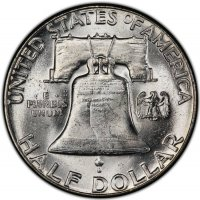 1951 Franklin Silver Half Dollar Coin - Choice BU
