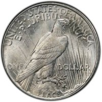 1925 Peace Silver Dollar Coin - Brilliant Uncirculated (BU)
