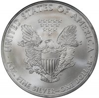 2009 1 oz American Silver Eagle Coin - Gem BU