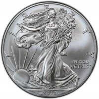 2012 1 oz American Silver Eagle Coin - Gem BU