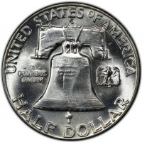 1963-D Franklin Silver Half Dollar Coin - Choice BU