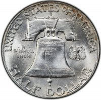 1949-D Franklin Silver Half Dollar Coin - Choice BU