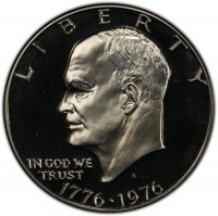 1776-1976-S Eisenhower Dollar Coin - Proof