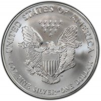 2002 1 oz American Silver Eagle Coin - Gem BU