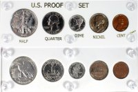 1942 U.S. Proof Set (5 Coins, New Capital Plastic Holder)