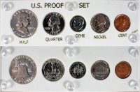 1952 U.S. Silver Proof Coin Set (New Capital Plastic Holder)