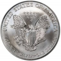1994 1 oz American Silver Eagle Coin - Gem BU