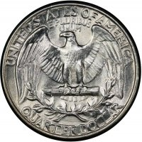1932 Washington Silver Quarter Coin - Choice BU