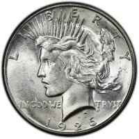 1926-S Peace Silver Dollar Coin - Brilliant Uncirculated (BU)