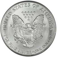 1993 1 oz American Silver Eagle Coin - Gem BU