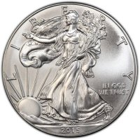 2015 1 oz American Silver Eagle Coin - Gem BU