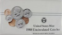 1988 U.S. Mint Coin Set