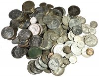 $25.00 Face Value U.S. 90% Silver Coins - Includes Half Dollars!