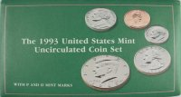 1993 U.S. Mint Coin Set