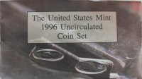 1996 U.S. Mint Coin Set - Includes 1996-W Dime!