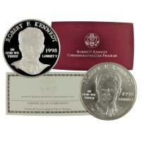 1998 Robert F. Kennedy Commemorative Set (2 Coin)