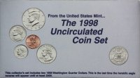 1998 U.S. Mint Coin Set