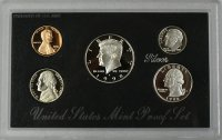 1998 U.S. Silver Proof Coin Set