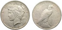 Peace Silver Dollars - VG-XF Condition