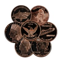 1 oz Copper Round - Design Our Choice