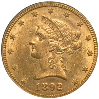 $10.00 Liberty Head Gold Eagle Coins - Random Dates - BU