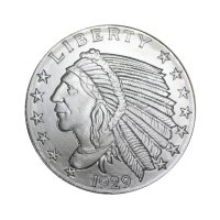 1/2 oz Silver Round - Varied Design
