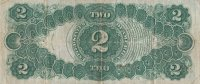 1917 $2.00 Legal Tender Note - Large Type - Very Fine