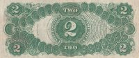 1917 $2.00 Legal Tender Note - Large Type - Extremely Fine