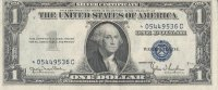 1935 $1.00 Silver Certificate - Star Note - About Uncirculated