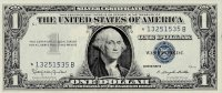 1957 $1.00 Silver Certificate - Star Note - About Uncirculated / Uncirculated