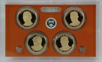 2015 U.S. Presidential Dollar Proof Coin Set