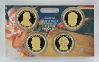2009 U.S. Presidential Dollar Proof Coin Set