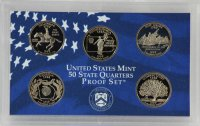 1999 U.S. State Quarter Proof Coin Set - Wholesale Price!