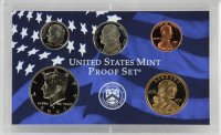 2001 U.S. Proof Coin Set