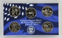 2001 U.S. State Quarter Proof Coin Set - Wholesale Price!