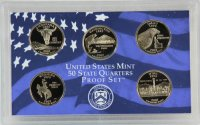 2007 U.S. State Quarter Proof Coin Set - Wholesale Price!