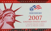 2007 U.S. Silver Proof Coin Set