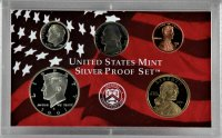 2000 U.S. Silver Proof Coin Set