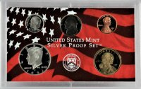 2002 U.S. Silver Proof Coin Set