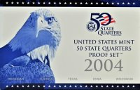 2004 U.S. State Quarter Proof Coin Set - Wholesale Price!