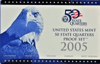 2005 U.S. State Quarter Proof Coin Set - Wholesale Price!